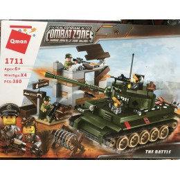 "Конструктор Brick 1711 ""Атака танка"" 380 дет."