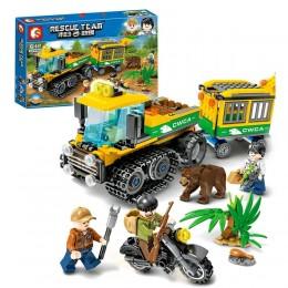 """Конструктор Sembo 603029 """"Исследователь джунглей"""" (реплика Lego City) 282 дет"""