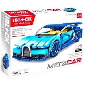 Конструктор Iblock машинка Mega Car 641 дет PL-920-143