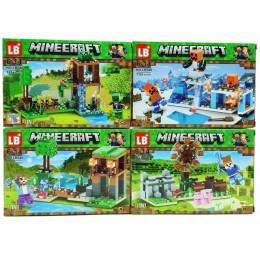 Конструктор Майнкрафт Minecraft 4 в 1 LB548 My World