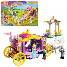 Конструктор для девочки Brick 2605 «Карета принцессы» 374 детали