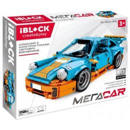 Конструктор Iblock машинка Mega Car 517 дет PL-920-144