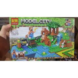 Конструктор My World Майнкрафт Парк Обезьян Minecraft 226 дет. 20020
