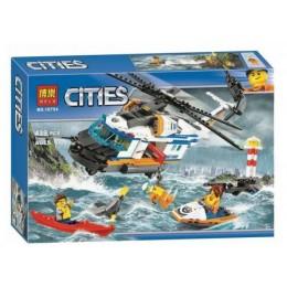 """Конструктор Bela """"Citles"""" (10754) Сверхмощный спасательный вертолет, 439 деталей - Аналог City 60166"""