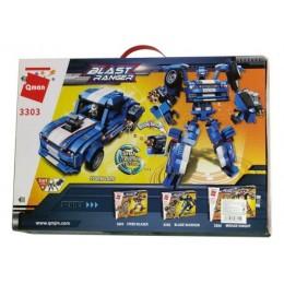 Конструктор BRICK Робот-Спорткар 3303 815 дет.