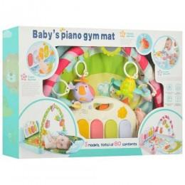 Развивающий коврик для младенца с пианино 9912