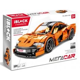 Конструктор Iblock машинка Mega Car 708 дет PL-920-154