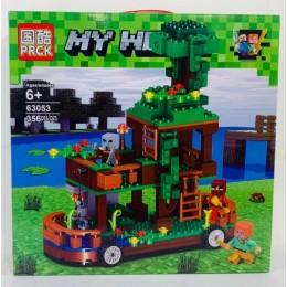 Конструктор Майнкрафт Дом на колесах PRCK 63053 Minecraft 356 дет
