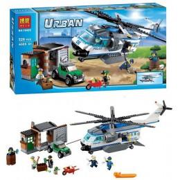 """Конструктор Bela 10423 (аналог Lego City 60046) """"Вертолётный патруль"""", 528 дет Подробнее:"""