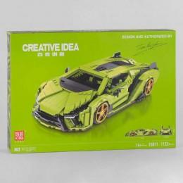 Конструктор - Машина 10011 (12) 1133 детали, в коробке