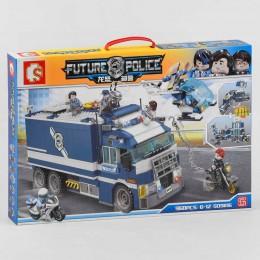 """Конструктор SD 9816 (10/2) """"Тюрьма на колесах"""", 960 деталей, в коробке"""